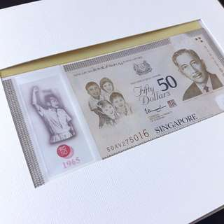 Commemorative SG50 Notes