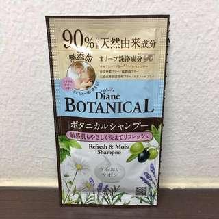Moist Diane Botanical Refresh & Moist Shampoo Sample Sachet
