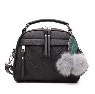 PRE-ORDER: Bag with Furball charm