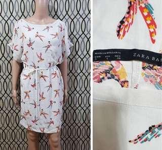 ZARA PRINTED DRESS SMALL-MEDIUM