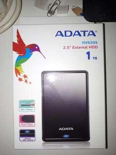 1TB ADATA  External Hard Drive HDD
