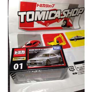 Tomy premium Nismo R34 GT-R