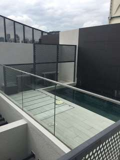 1 Bedder penthouse with private pool
