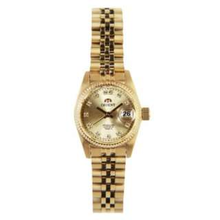 ORIENT AUTOMATIC FEMALE GOLD WATCH NR16001G SNR16001G0