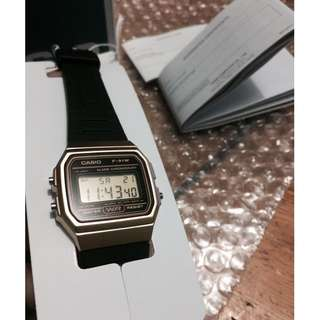 Limited edition original and brand new casio vintage watch
