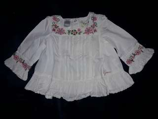 GUESS White Long Sleeves