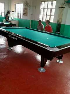 Refurbished Kangaroo/Brunswick Standard Billiard Table