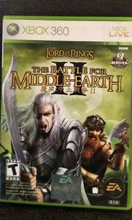 Xbox 360 The Lord Of The Rings - The Battle Of Middle-Earth 2