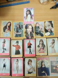 Jihyo photocards