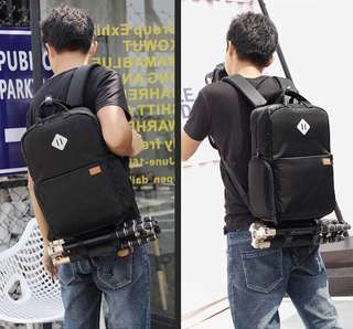 Camera backpack with usb charging port (Raya sale )