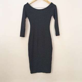 Zara off-shoulder bodycon
