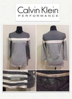 Calvin Klein Performance Striped L/S Shirt