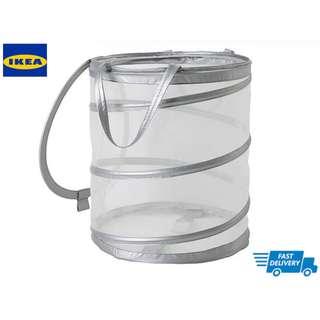 IKEA FYLLEN Laundry basket, grey