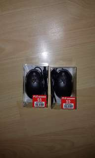 2x wired mouse