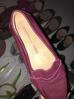 Authentic rockport loafers driver shoes flats