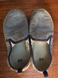 H&M striped shoes