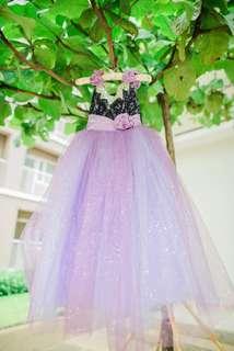 Violet Classy Birthday Gown