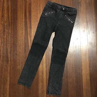 H&M Black Faded Jeggings