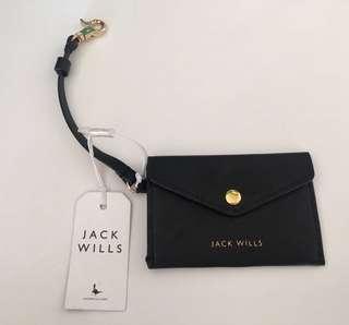 Jack Wills travel purse (10.5 x 7cm)