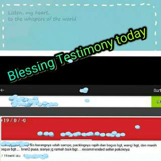 Blessing Testimony today