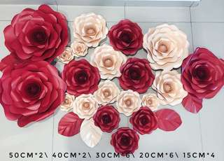 High quality paper flower