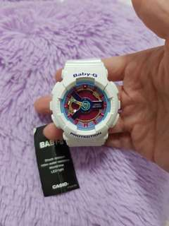 Casio Baby-G Watch (White/Purple/Pink)