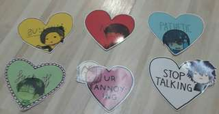 🚚 Cute Tokyo Ghoul Stickers