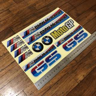 BMW GS Sticker