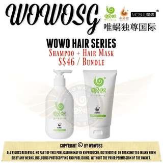 Bundle shampoo + hair mask