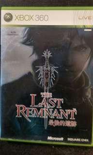 Xbox 360 The Last Remnants