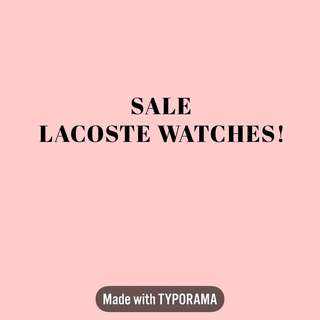 Lacoste Warch