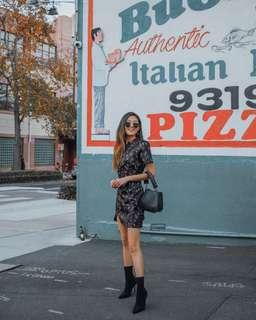 Black Oriental Dress