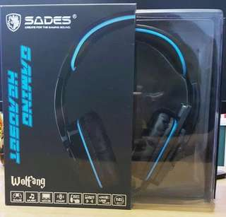 HEADSET GAMING SADES SA-901