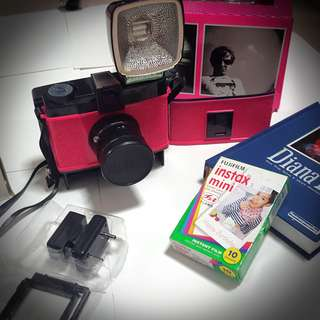 Diana F+ Special Edition Lomo Camera + Instant Back