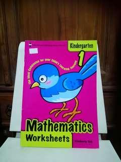 BN K1 Mathematics Worksheets