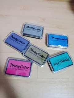 Simple colours pigment stamp pad