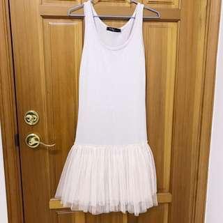 🚚 日系蘿莉塔軟妹森林系 內搭襯裙紗裙 連身裙 洋裝
