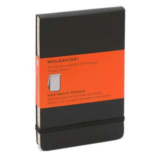 Moleskine Classic Pocket Ruled Reporter Notebook 筆記簿 記者簿