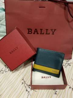 Bally Letrilt Leather Wallet