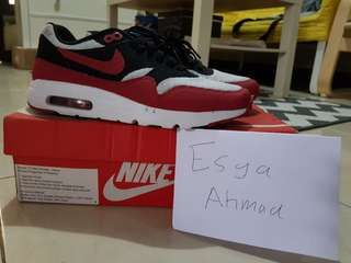 Nike air max 1 ultra essential gym red
