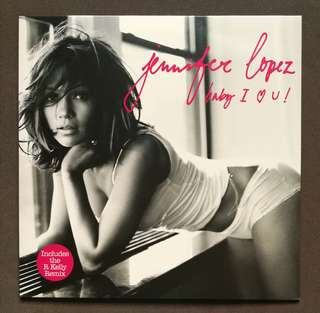 Jennifer Lopez JLo original LP record single