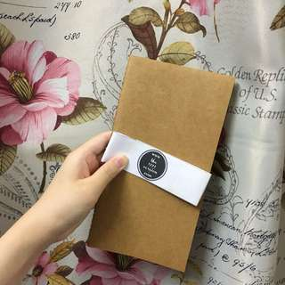 The 1992 version planner insert traveller notebook journal