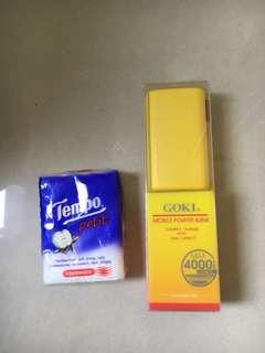 黃色4000外置充電器:$50
