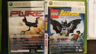 Xbox 360 LEGO Batman + Pure (2 Games)