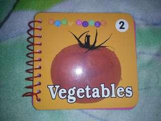 Vegetables booklet