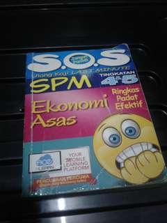 Ekonomi Asas SOS SPM Reference Books