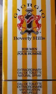 GIORGIO BEVERLY HILLS PERFURME for men