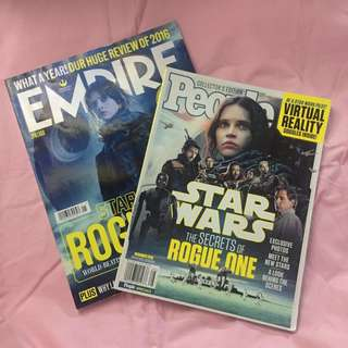 Star Wars Magazine Bundle - Empire and People Collector's Edition (Rogue One)