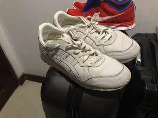 Onitsuka Tiger Sneakers White Leather