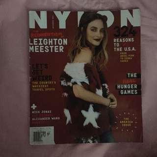 Nylon - Leighton Meester (November 2014)